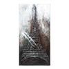 """Canvas Art Eiffel Tower 79""""H, 40""""W"""