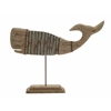 Benzara Wooden Made Whale Stand
