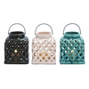 Benzara Intricately Designed Smart Styled Ceramic Lantern 3 Assorted