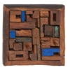 Simply Extraordinary Wood Teak Wall Panel