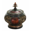 Polystone Decorative Box Special Carving And Accents Make It Great
