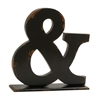 "Benzara Appealing Wood Symbol Table Decor 16""W, 16""H"