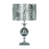 "Benzara Designers Lamps - Metal Glass Table Lamp 22""H"