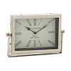 Benzara Exclusively Designed Steel Table Clock