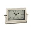 Benzara Classic & Exclusive Steel Table Clock