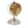 "Stylish Metal Pvc Globe 5""W, 8""H"