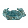 Benzara Rivetingly Styled Ceramic Turtle Bowl