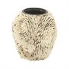 Lovely Ceramic Shell Vase, Off White