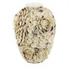 Gorgeous Shell Ceramic Vase, Pearl