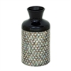 Well-designed Lacquer Mop Vase, Multicolor