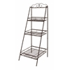 Benzara The Useful Metal 3 Tier Shelf