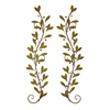 Metal Wall Decor Pair Adored Beautifully With Leaves And Beads
