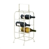 Excellent Metal Wine Holder, Silver
