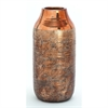 Striking Ceramic Vase, Copper