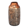 Outstanding Ceramic Vase, Copper