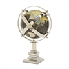 Gorgeous Aluminum Globe, Multicolor