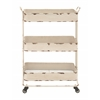 Traditional And Timeless Metal 3 Tier Cart