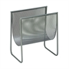 Impressive Metal Magazine Holder, Grey
