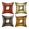 Benzara Metal Mirr Decor 4 Asst A Set Of Four