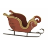 Benzara Fabulous Wood Metal Sleigh