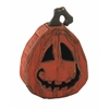 Benzara Funny Face Wood Pumpkin