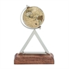 Mesmerizing Stainless Steel PVC Wood Globe, Multicolor