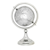 Amazing Stainless Steel PVC Globe, Chrome Silver