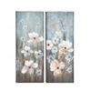 Benzara Simply Beautiful Canvas Art 2 Assorted