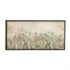 Captivating Ps Wood Framed Canvas Art, Multicolor