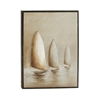 Alluring Framed Canvas Art, Beige