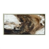 Classy Framed Canvas Art, Shades Of Brown