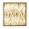 Adorable Framed Canvas Art, Gold
