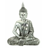 Benzara Polystone Sitting Buddha Depicts Meditating Buddha
