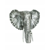 Distinctive Showpiece Polystone Elephant Head Plaque
