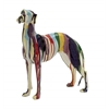 Abstract And Artistic Polystone Dog