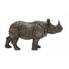 Benzara Well Built Rhino Figurine
