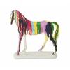 "Benzara Polystyrene Horse 10""W, 11""H"
