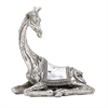 Striking Ps Mosaic Giraffe, Chrome Silver