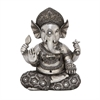 Gorgeous Ps Silver Ganesh, Oxidized silver