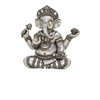 Gorgeous Ps Shelf Ganesha, Antique Silver