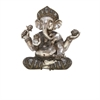 Beautiful Ps Shelf Ganesha, Antique Silver, Gold