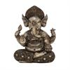 Striking Ps Gold Ganesha, Antique Silver, Gold