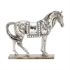 Attractive Ps Mosaic Silver Horse, Silver