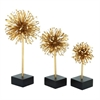 Mesmerizing Metal PS Gold Star Set of 3
