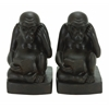 Benzara Polystone Monkey Bookend Pair A Kids Craze