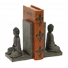 "Library Polystone Buddha Bookend 8""H, 5""W"