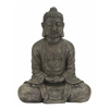 "Benzara Table Top Polystone Buddha 31""H, 26""W Sculpture"