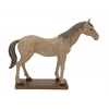 Attractive Unique Styled Polystone Horse Statue