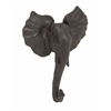 Benzara Grand Polystone Elephant Trophy Head