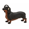 Benzara Simply Very Cool Polystone Dog Headphone